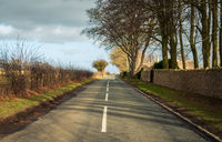 Road in rural Britain