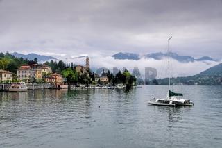 Tremezzo am Comer See in Italien - Tremezzo, Lake Como, Lombardy in Italy