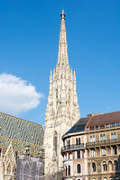 Gothic St. Stephen's Cathedral in Vienna