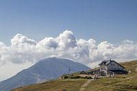Damiano-Chiesa hut in the Monte Baldo area
