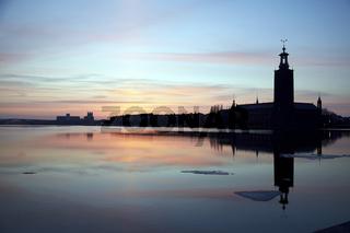 Rathaus, Stockholm, Schweden