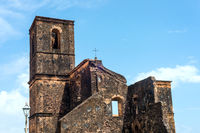 Matriz Church ruins in the historic city of Alcantara near Sao Luis, Maranhao State, Brazil
