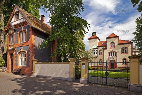 cabman house and music school, Recklinghausen, North Rhine-Westphalia, Germany