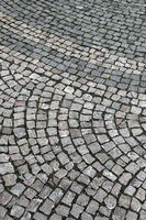 Cobbled street background
