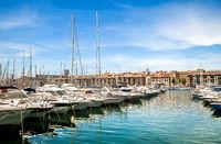 Old port Marseille.