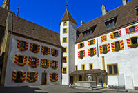 Innenhof Schloss Neuenburg