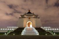 Chiang Kai-Shek Memorial Hall by night