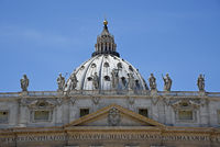 St. Peter´s Basilica, St. Peter´s Square, Rome, Italy, Europe