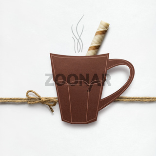 Hot drink.