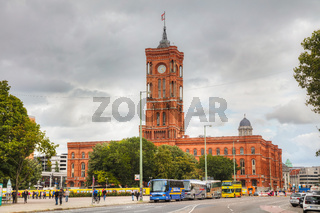 Rotes Rathaus (Red City Hall) in Berlin, Germany