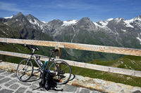 alps; Austria; Europe; Glockner Group; bicycle tour;