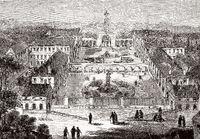 Ancien hospice Brézin, Garches, Paris, France, 19th century