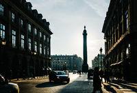 Place Vendôme in Paris, France