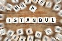 Istanbul Würfel Business Konzept