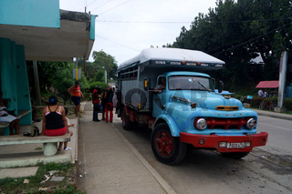 kubanischer Nahverkehr,Baracoa,Kuba