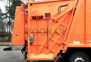 Müllauto, Besen  Schaufel 2
