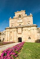 The Notre Dame Gate, Malta architecture