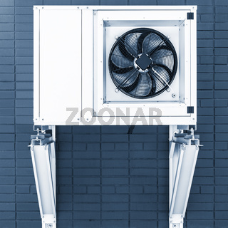 Part of air conditioning system.