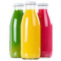 Saft Smoothie Smoothies Flasche Fruchtsaft Quadrat isoliert freigestellt Freisteller