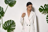 Asian model in studio