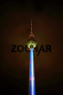 Fernsehturm in Berlin. Deutschland