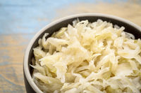 bowl of sauerkraut
