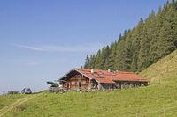 Baumoos hut in Sudelfeld area