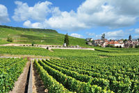 Wine Village of Oger in Champagne region near Epernay,Marne Departement,France