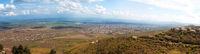 Summer Alazani Valley panorama