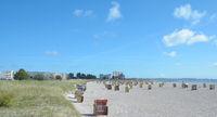 Beach of Burgtiefe-Suedstrand on Fehmarn,baltic Sea,Schleswig Holstein,Germany