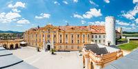 World famous Melk Abbey on Danube river in lower Austria