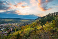 Autumn in Jena (Thuringia)
