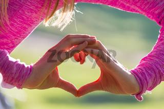 Hand on heart