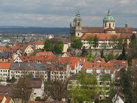 Basilica in Weingarten, Upper Swabia, Germany