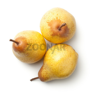 Pears Isolated on White Background