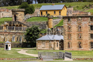 Historic buildings of the World Heritage Site Port Arthur, Tasmania, Australia