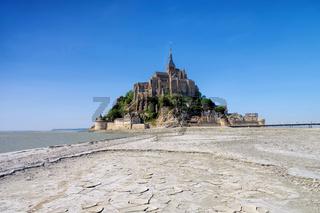 Mont-Saint-Michel in der Normandie - Mont Saint Michel Abbey in Normandy, France