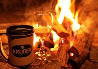 bonfire at Kruger NP, South Africa