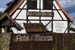 Güntersberge Blick auf das Mausefallen Museum