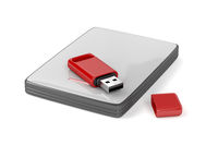 Usb stick and external hard drive
