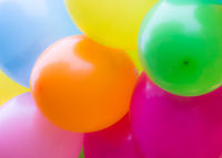 Abstract colorful ballon background