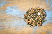 genmaicha green tea with roasted rice