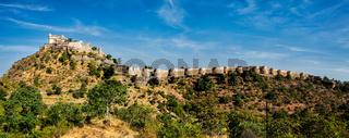 Kumbhalgrh fort. Rajasthan, India