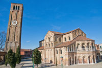 Santa Maria e Donato Church at Murano Island, Italy