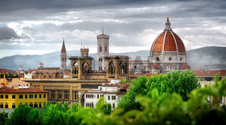 Clouds over Florence