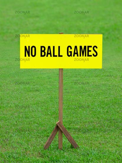 no balls games
