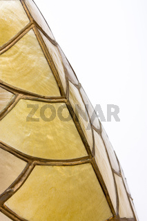 shell lampshade texture