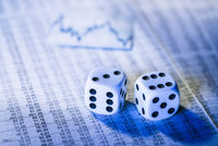Stock prices and dice