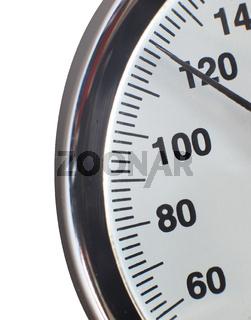 manometer scale