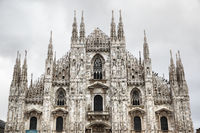 Facade of Milan Cathedral